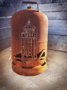 11kg Feuertonne - Leuchtturm Föhr