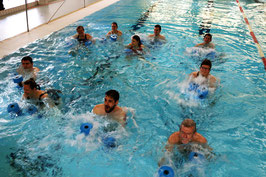 Kurs 47 Aquajogging Jedermann Mittwochs 17:45 Uhr