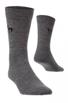 Alpaka Business Socken  3 Paar grau