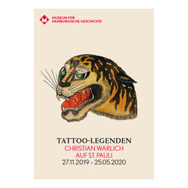 Exhibition Brochure Tattoo Legends