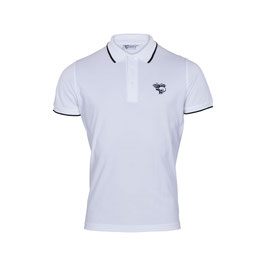 Polo Shirt single tipped, white