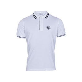 SALE – Polo Shirt twin tipped, white