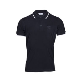 Polo Shirt single tipped, black