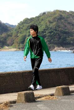 JE001 Jersey Wear+Pants_Green