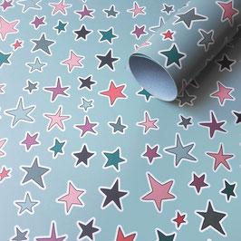 Sterne Geschenkpapier