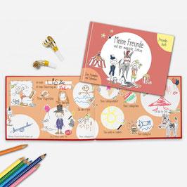 Freundebuch - Meine Freunde und der magische Zirkus