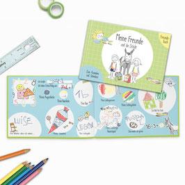 Freundebuch Grundschule - Meine Freunde und die Schule