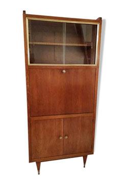 Secrétaire vintage des années 50/60 pieds fuseaux
