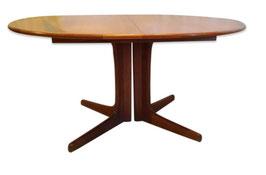 Table à manger style scandinave années 50