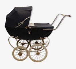 Landau vintage sur roues