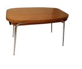 Table à manger en formica des années 60