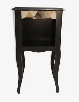 Chevet style baroque revisité noir