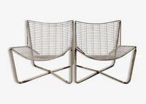 Paire de fauteuils Jarpen de Niels Gammelgaard 80's