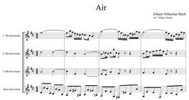 Johann Sebastian Bach: Air