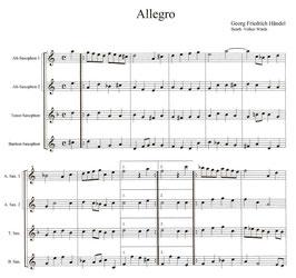 Georg Friedrich Händel: Adagio und Allegro