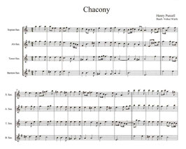 Henry Purcell: Chacony