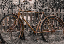 "Fotografie ""Old Bicycle"""