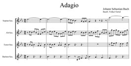 Johann Sebastian Bach: Adagio