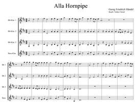 """Georg Friedrich Händel: Alla Hornpipe aus der """"Wassermusik"""""""