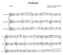 Georg Friedrich Händel: Andante und Allegro