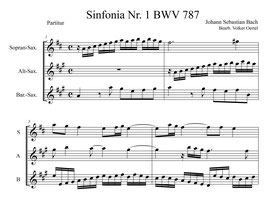 Johann Sebastian Bach: Sinfonia Nr. 1 BWV 787