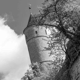 """Grußkarte """"Grüner Turm"""""""