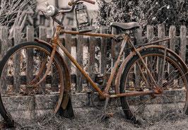 """Grußkarte """"Old Bicycle"""""""