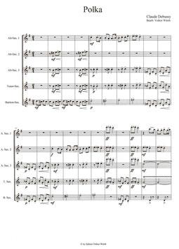 Claude Debussy: Polka