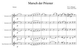 Wolfgang Amadeus Mozart: Marsch der Priester
