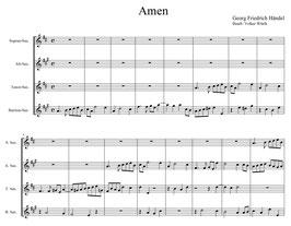 """Georg Friedrich Händel: Amen aus dem """"Messias"""""""