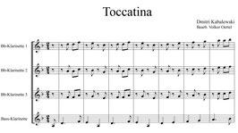 Dmitri Kabalewski: Toccatina