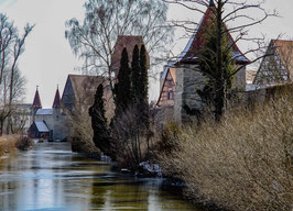 """Fotografie """"Stadtmauer an der Schwedenwiese"""""""