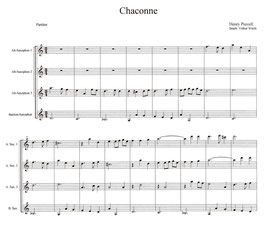 Henry Purcell: Chaconne