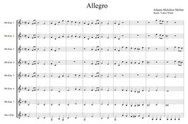 Johann Melchior Molter: Allegro