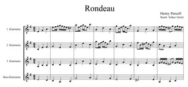 Henry Purcell: Rondeau