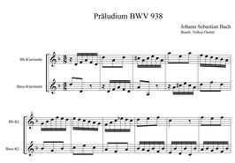 Johann Sebastian Bach: Vier kleine Präludien