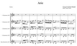 Georg Friedrich Händel: Arie und Marsch