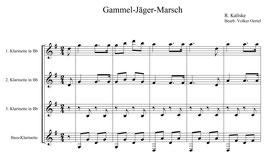 R. Kaliske: Gammel-Jäger-Marsch