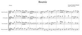 """Georg Friedrich Händel: Drei Stücke aus der """"Feuerwerksmusik"""""""