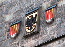"Fotografie ""Wappen am Münster St. Georg"""