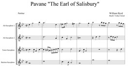 "William Byrd: Pavane ""The Earl of Salisbury"""