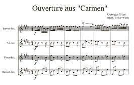 """Georges Bizet: Ouverture aus """"Carmen"""""""