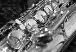 """Grußkarte """"Tenor-Saxophon"""""""