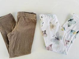 Leggings mit Gummibund Größe 56 - 128 - verschiedene Stoffe