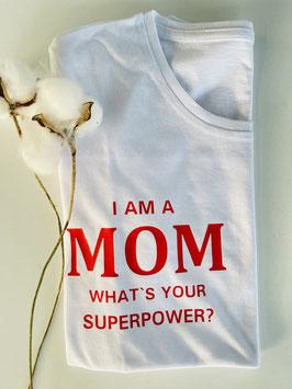 I AM A MOM – Bio Shirt L / Sofortkauf
