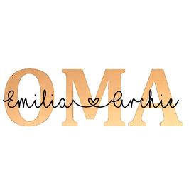 Personalisierung Accessoire OMA/OPA/DAD/TANTE.........