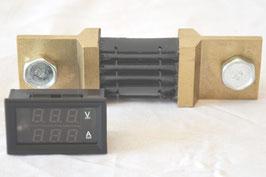 Ampere und Spannungsmesser für Wechselrichter