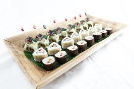 "Buffet-Platte ""Sushi vegan"""