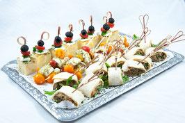 """Buffet-Platte """"Vegetarisch-Mediterran"""""""