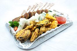 "Buffet-Platte ""Vegan – asiatisch & mediterran"""